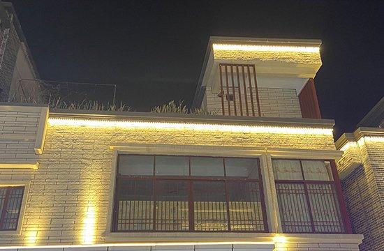 户外洗墙灯工程案例